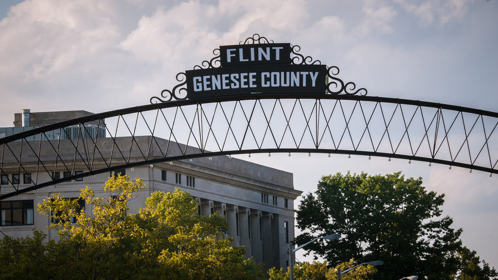 Three years on and Flint's residents are still drinking bottled water